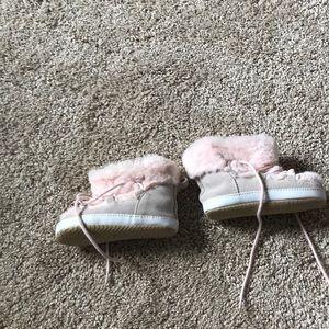 GAP Shoes - Baby Gap Fur Boots